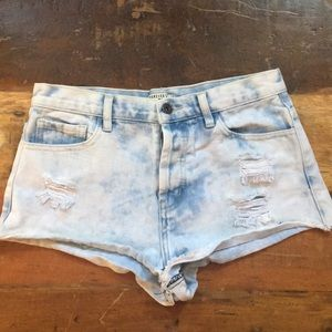 Forever 21 Jean cut off shorts size 27